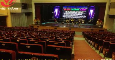 Thi công màn hình LED P5 tại Nhà Hát Ca Múa Nhạc Việt Nam