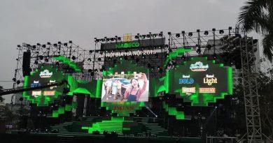 Màn Hình LED cho thuê sự kiện :Lễ Hội Bia Hà Nội