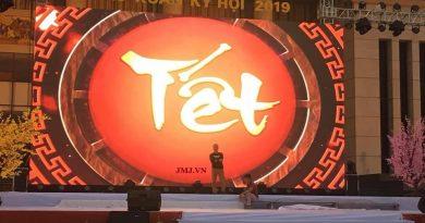 Màn Hình LED cho thuê sự kiện : Live SHow Chào Mừng Năm Mới – Đêm Giao Thừa Tại Trung Tâm Tỉnh Bắc Giang
