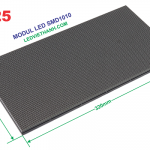 Modul LED P1.25 RGB