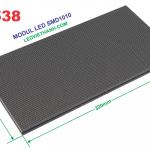 Modul LED P1.538 RGB