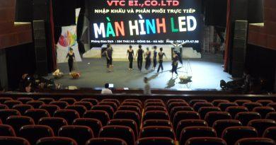 """Thi công Màn Hình LED tại """" Sân Khấu Nhà Hát Tuổi Trẻ """""""